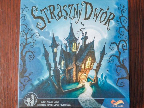 """""""Straszny Dwór"""" to kooperacyjna gra od Foxgames dla graczy od lat 6 (fot. Ewelina Zielińska)"""