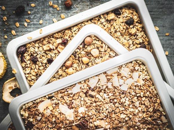 Domowa granola jest zdrowsza i smaczniejsza od tej sklepowej (fot. Kornelia Stec / profifoto.pl)