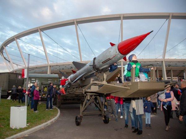 Uczestnicy Święta Niepodległości na stadionie zobaczą m.in wystawę militariów (fot. mat. organizatora)