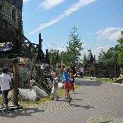 W każdy weekend w Warowni Pszczyńskich Rycerzy czekają na dzieci gry i zabawy (fot. FB Warowni)