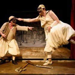 """""""Miłość do trzech pomarańczy"""" to spektakl, który otworzy nowy sezon w Teatrze Ateneum (fot. FB Teatr Lalki i Aktora Ateneum)"""