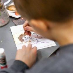 Na zajęciach w Muzeum Śląskim dzieci stworzą własne dzieła inspirowane ikonami (fot. mat. organizatora)
