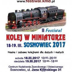 II Festiwal Kolej w Miniaturze to wydarzenie dla wszystkich miłośników kolei (fot. mat. organizatora)
