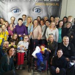W pomoc przy tworzeniu Świetlikowa zaangażowała się Martyna Wojciechowska (fot. FB Wybudujmy Świetlikowo)