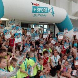 """Na festiwalu pływackim """"Radość z pływania"""" bawiło się aktywnie 180 dzieci (fot. mat. organizatora)"""