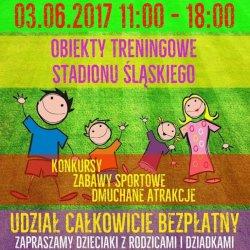 Olimpiada Przedszkolaka to zabawy sportowe na Stadionie Śląskim (fot. FB Stadion Śląski)