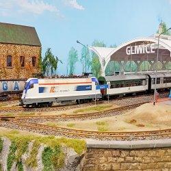 Na 900 m kw. wystawy zobaczymy Śląsk pomniejszony 25 razy, m.in. gliwicki dworzec (fot. mat. organizatora)
