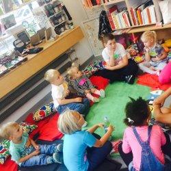 Kukiełka Hilda - bohaterka projektu, jest uwielbiana przez dzieci (fot. archiwum zdjęć na Fb Dobra/nocki)