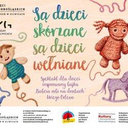 """Specjalny pokaz spektaklu """"Są dzieci skórzane, są dzieci wełniane"""" odbędzie się w Muzeum Śląskim (fot. archiwum FB Dom Pamięci Żydów Górnośląskich)"""