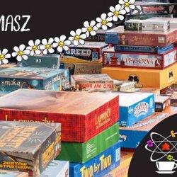 Kiermasz gier to świetna okazja do wzbogacenia domowego zbioru planszówek (fot. mat. organizatora)