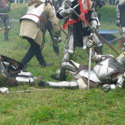 Największą atrakcją XIII turnieju rycerskiego będzie wielka bitwa o zamek (fot. foter.com)