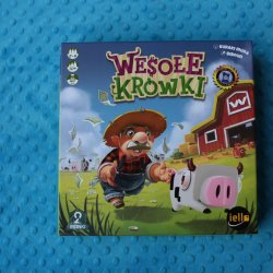 """""""Wesołe krówki"""" to świetna gra ekonomiczna dla graczy od lat 10 wydana przez 2 Pionki (fot. Ewelina Zielińska)"""