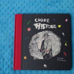 """""""Chore historie"""" to popularnonaukowa historia chorób od wydawnictwa Kocur Bury (fot. mat. Ewelina Zielińska)"""