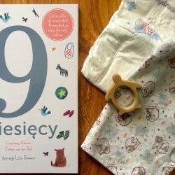 """""""9 miesięcy"""" to książka, która w ciekawy sposób przybliża najmłodszym świat rozwoju i narodzin dzieci (fot. Ewelina Zielińska/SilesiaDzieci.pl)"""