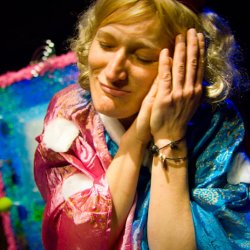 """""""Bajkomat"""" to spektakl, który zobaczycie w Teatrze Gry i Ludzie (fot. mat. Teatr Gry i Ludzie)"""