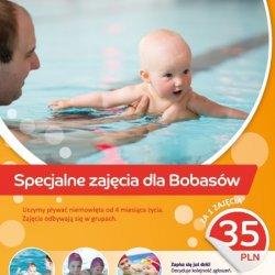 W zajęciach na basenie mogą brać udział nawet takie maluchy (fot. materiały organizatora)
