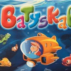"""""""Batyskaf"""" to gra prosta, ładnie wydana i wciągająca (fot. Ewelina Zielińska/SilesiaDzieci.pl)"""