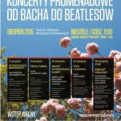 Koncerty promenadowe odbywają się w niedziele w Parku Kościuszki (fot. mat organizatora)