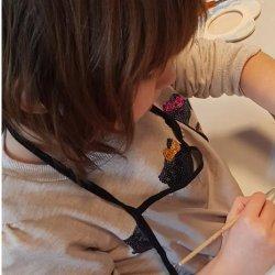 Decoupage to dla wielu maluchów bardzo interesująca nowość. (fot. mat.organizatora)