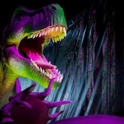 """Wystawę pt. """"Dinozaury na żywo"""" będzie można zwiedzać do 12 czerwca (fot. mat. organizatora)"""