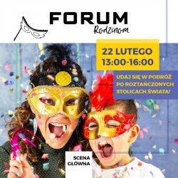 Zajęcia pełne ruchu, muzyki i dobrej zabawy odbędą się  22 lutego w Forum w Gliwicach (fot. mat. organizatora)