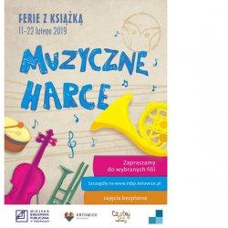 """Zajęcia pt. """"Muzyczne Harce"""" przeznaczone są dla dzieci w wieku 7-12 lat (fot. mat. organizatora)"""