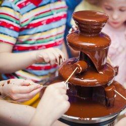 Najmłodsi wezmą udział w kreatywnych zabawach z czekoladą (fot. mat. organizatora)