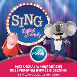 """Impreza """"Sing. Zostań gwiazdą!"""" odbędzie się w Rybniku i Zabrzu (fot. mat. Focus Park Rybnik)"""