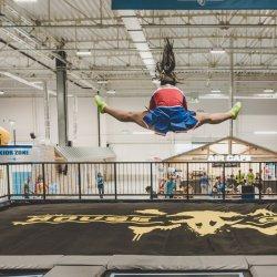 Na 3 tys. m2 znajdziemy kilkadziesiąt trampolin (fot. mat. House Of Air)