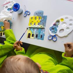 Uczestnicy warsztatów stworzą własne, miniaturowe wersje śląskich kamienic (fot. mat. organizatora)