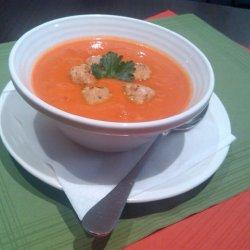Zupa pomidorowa jest zdrowa i pożywna (fot. A. Borowczyk)