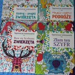 Mamy dla Was zestawy z kolorowankami od wydawnictwa Wilga! (fot. Ewelina Zielińska)