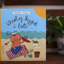 """""""Wesoły ryjek i lato"""" to najnowsze przygody małego prosiaczka od Media Rodzina (fot. Ewelina Zielińska)"""