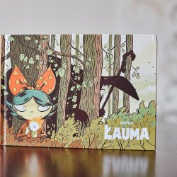 """""""Łauma"""" to kolejna komiksowa perełka od Kultury Gniewu (fot. Ewelina Zielińska)"""