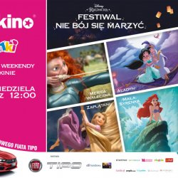 W sierpniu na dużym ekranie Multikina będzie można obejrzeć najpiękniejsze filmy Disneya z księżniczkami w rolach głównych (fot. mat. organizatora)