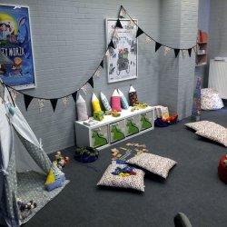 Kącik dziecięcy w Kinie Kosmos będzie działał w godzinach otwarcia kina (fot. mat. organizatora)