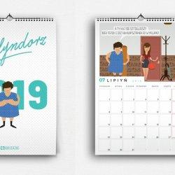 W naszym konkursie można wygrać śląski kalendarz z zabawnymi historyjkami każdego miesiąca (fot. Qdizajn)
