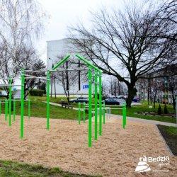 Ta strefa aktywności fizycznej powstała w Będzinie przy ul. dr. Adama Bilika (fot. mat. prasowe)