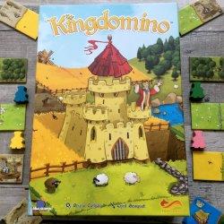 Gra polega na tworzeniu własnego królestwa z żetonów (fot. mat. Ewelina Zielińska/SilesiaDzieci.pl)