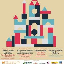 """""""Klocki Teatralne"""" odbędą się w Bytomskim Centrum Kultury w dniach 21-22 października (fot. mat. organizatora)"""