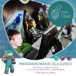 Na zajęciach dzieci poznają podstawy programowania - pomoże w tym gra Minecraft (fot. mat. organizatora)