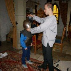 Odwiedzający zamek w Pszczynie będą mieli okazję poczuć się jak prawdziwi rycerze (fot. mat. organizatora)