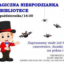 Magiczna impreza dla dzieci odbędzie się 31 października w Mediatece (fot. mat. organizatora)
