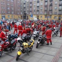 Mikołaje na motorach to dość niecodzienny widok (fot. mat. organizatora)