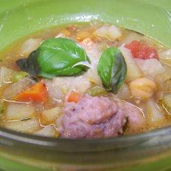 Zupa minestrone (fot. mat. Cynamonu)