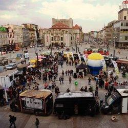 Na rynku w Katowicach zaparkuje 30 food trucków z całej Polski (fot. mat. organizatora)