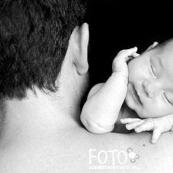 Nina, córka Ani Dudek, z tatą (fot. Anna Dudek)