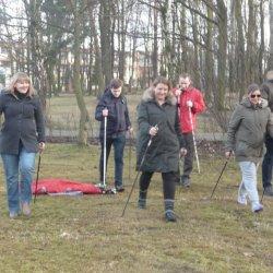 Ruch, w przypadku prawidłowo przebiegającej ciąży, jest wskazany, dlatego warto wybrać się do Parku Zadole i pomaszerować wspólnie z innymi ciężarnymi (fot. materiały Misia Kuleczki)