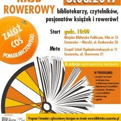 """""""Odjazdowy Bibliotekarz"""" to wycieczki rowerowe organizowane przez biblioteki w całej Polsce (fot. mat. MBP Sosnowiec)"""