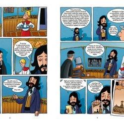 """Komiks """"Ostatni Żubr"""" Tomasz Somojlik (fot. mat. redakcji SD)"""